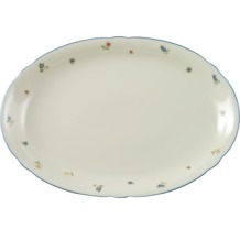 Seltmann Weiden Platte oval 35 cm Marie Luise Streublume 30308 bunt