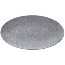 Seltmann Weiden Servierplatte oval 33x18 cm Fashion elegant grey 25675