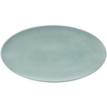 Seltmann Weiden Servierplatte oval 33x18 cm Fashion green chic 25674