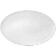 Seltmann Weiden Servierplatte oval 40x26 cm Fashion luxury white 25676