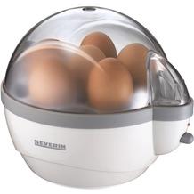 Severin Eierkocher 3051, weiß-grau