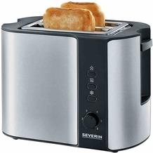 Severin Toaster AT2589 Edelstahl-schwarz