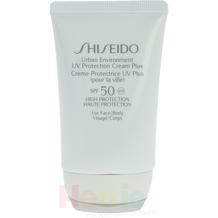 Shiseido Urban Environment Uv Prot.Crm. Plus SF50 Starker Schutz - For Face/Body - Anti Aging UV Care 50 ml