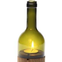 """side by side Ersatzglas für das Windlicht """"WeinLicht grün"""""""