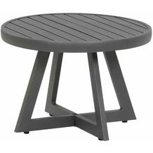 Siena Garden Alexis Lounge Tisch Ø 50x35 cm graphit