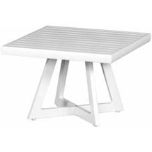 Siena Garden Alexis Lounge Tisch Ø 50x35 cm weiß