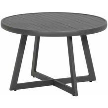 Siena Garden Alexis Lounge Tisch Ø 70x55 cm graphit