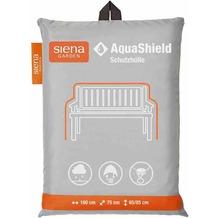 Siena Garden AquaShield Bankhülle 3er 160x75xH65/85cm hellgrau