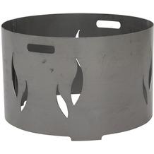 Siena Garden Feuerschalenaufsatz, Stahl silber/anthrazit, passend zu der Feuerschale XXL Ø75cm Ø55cm