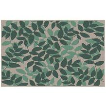 Siena Garden Lews Outdoor-Teppich, 2er-Set 213x160 & 112x80 cm grün