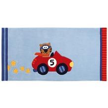 Sigikid Kinder-Teppich Happy Street Cars SK-3343-01kl blau 70 x 140 cm