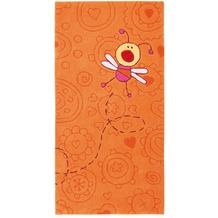 Sigikid Kinderteppich Happy Zoo Summ-Summ SK-3340-01kl terrakotta/orange 70 x 140 cm