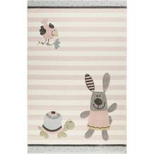 Sigikid Kinderteppich Happy Friends SK-22427-655 zartrosa 80x150 cm