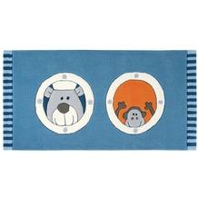 Sigikid Kinderteppich Olaf Laola Ahoi SK-3344-01kl blau 90 x 160 cm