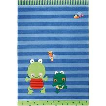Sigikid Kinder-Teppich Susi Sumpfhose SK-3348-01 blau 120 x 180 cm
