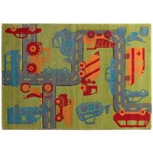 Sigikid Kinderteppich Traffic SK-21967-040 grün 80x150