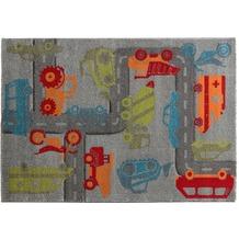 Sigikid Kinderteppich Traffic SK-21967-096 grau 80x150