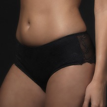 signature Boxer Solid lace black L