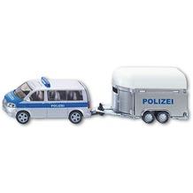 SIKU Polizei-PKW mit Pferdeanhänger