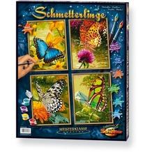 Schipper Malen nach Zahlen - Schmetterlinge (Quattro)