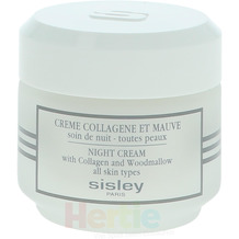 Sisley Night Cream With Collagen And Woodmallow All Skin Types, Nachtcreme 50 ml