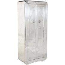 SIT AIRMAN Schrank 2 Türen silber