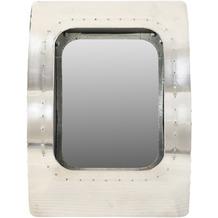 SIT AIRMAN Spiegel in Form eines Flugzeug-Bullauges silber