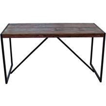 SIT BALI Tisch bunt mit antikschwarz, groß