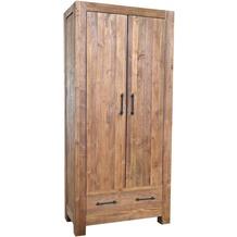 SIT-Möbel BANDA Schrank 2 Türen, 2 Schubladen natur