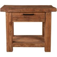 SIT CORAL Telefontisch 1 Schublade, 1 Ablageboden natur