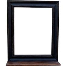 SIT-Möbel CORSICA Spiegel mit Ablage schwarz