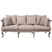 SIT-Möbel COUNTRY CORNER Sofa 3 lose Sitzkissen, 6 lose Rücken-Seitenkissen beige
