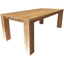 SIT FAUSTO Tisch verdeckte Stollen natur klein
