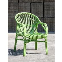 SIT-Möbel RATTAN Armlehnstuhl apfelgrün
