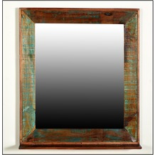 SIT RIVERBOAT Badezimmer-Spiegel mit Ablage bunt