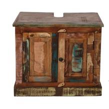 SIT RIVERBOAT Badezimmer-Unterschrank 2 Türen bunt