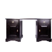 SIT SAMBA Schreibtisch 2 Schubladen, 2 Türen antikfinish