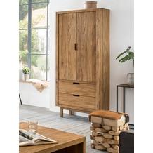 SIT-Möbel SANUR Schrank 2 Türen, 2 Schubladen natur