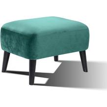 SIT SIT4SOFA Fußhocker grün Bezug grün, Beine schwarz
