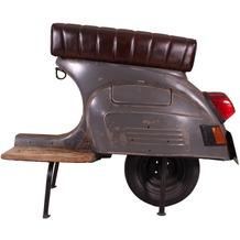 SIT THIS & THAT Barhocker Roller recyceltes Roller-Heck dunkelanthrazit