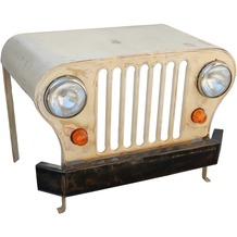 SIT-Möbel THIS & THAT Schreibtisch Jeep recycelte Jeep-Front creme