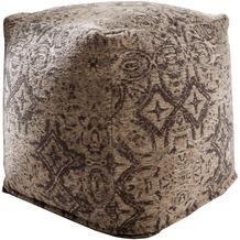 SIT-Möbel THIS & THAT Sitzwürfel grau/schwarz gemustert grau/schwarz gemustert
