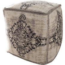 SIT-Möbel THIS & THAT Sitzwürfel hellgrau gemustert hellgrau gemustert