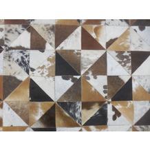 SIT THIS & THAT Teppich 170x240 cm weiß/braun weiß/braun