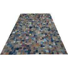 SIT THIS & THAT Teppich 200x300 cm Denim-Label bunt