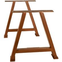 SIT TOPS & TABLES Tischgestell antikbraun für Platten von 180 bis 240 cm antikbraun