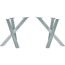 SIT TOPS & TABLES Tischgestell antiksilber antiksilber