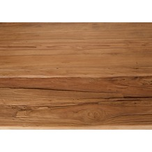 SIT-Möbel TOPS & TABLES Tischplatte 200x100 cm recyceltes Teak, Plattenstärke 50 mm natur