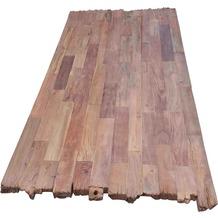 SIT TOPS & TABLES Tischplatte 240x100 cm Teak natur, Plattenstärke 50 mm dunkel