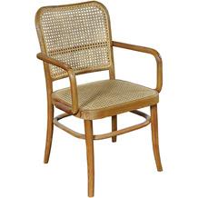 SIT &chairs Armlehnstuhl Teak, Rattan natur 02463-01